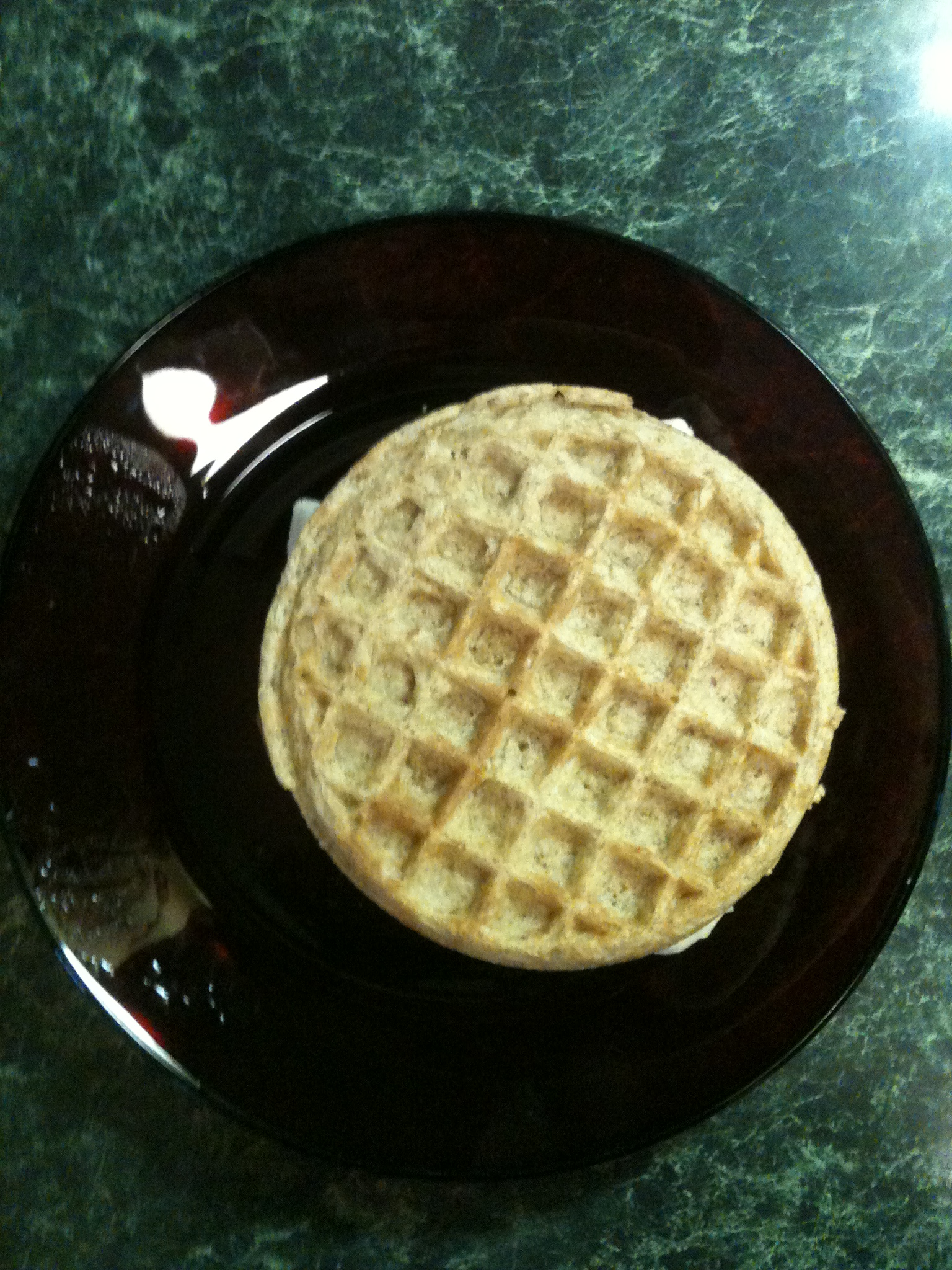 Recipe: Easy-Peasy Waffle Almond Butter Banana Sandwiches ...